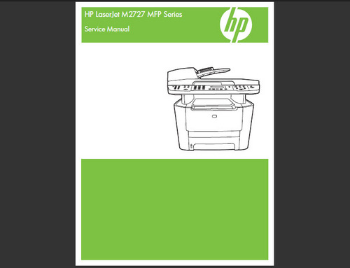 Product picture HP LASERJET M2727 MFP