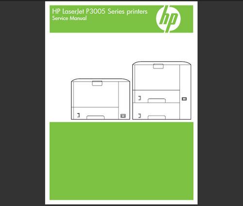 Product picture HP LASERJET P3005