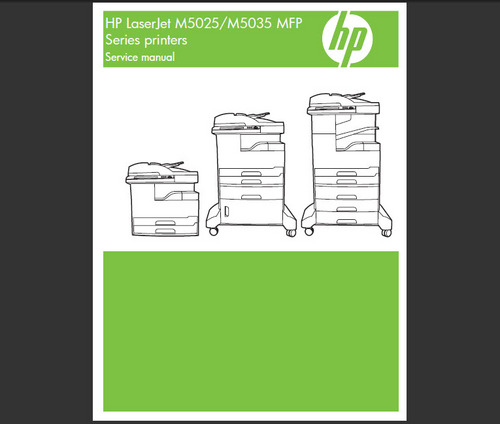 Product picture HP LASERJET M5035